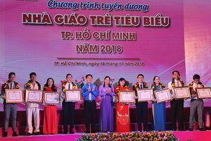 Thành đoàn TPHCM vinh danh 248 nhà giáo trẻ tiêu biểu