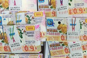 Mua 80 tờ vé số, người đàn ông ở Tây Ninh trúng hơn 19 tỷ đồng