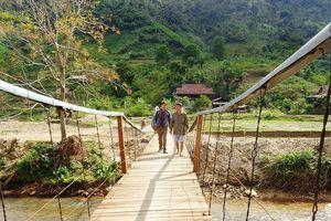 Chiếc cầu treo 'đặc biệt' nơi miền biên viễn xứ Nghệ