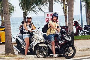 Đà Nẵng: Xử lý nghiêm người nước ngoài đi mô tô, xe máy vi phạm giao thông