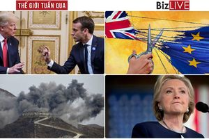 Thế giới tuần qua: Tâm điểm 'lời qua tiếng lại' giữa lãnh đạo Pháp - Mỹ