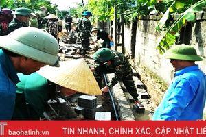 Trên 5.000 lượt cán bộ Lộc Hà tham gia 'Ngày thứ 7 nông thôn mới'