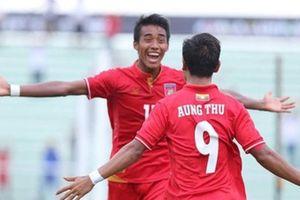 Myanmar bất lợi hơn khi gặp tuyển Việt Nam