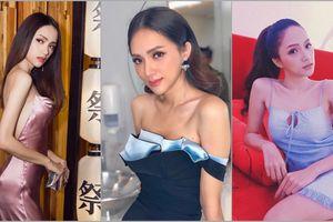 Cơ thể Hoa hậu Hương Giang ngày càng gầy gò trơ xương