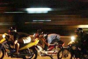 Cà Mau tạm giữ 24 đối tượng đua xe trái phép trong đêm