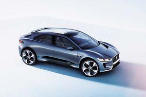 Chiêm ngưỡng vẻ đẹp xe SUV điện đầu tiên của Jaguar