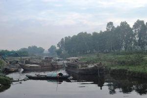 Quảng Nam:Cận cảnh người dân truy đuổi 'cát tặc' lộng hành trên sông Vu Gia