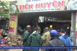 Mưa lớn gây ngập lụt và sạt lở tại Khánh Hòa