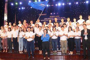 Hơn 100 thanh niên khởi nghiệp tham gia Hành trình 'Tôi yêu tổ quốc tôi'