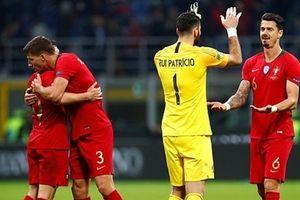 Không Ronaldo, Bồ Đào Nhà vẫn giành vé đi tiếp tại UEFA Nations League