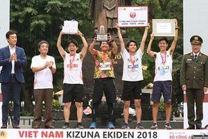 Giải chạy Kizuna Ekiden 2018 - ngày hội thể thao vì tình đoàn kết Việt - Nhật