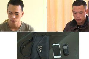 Thái Bình: Khởi tố 2 đối tượng cướp giật tài sản