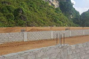 Công ty Mía đường Sông Lam dùng đất lậu xây nhà máy chè không phép