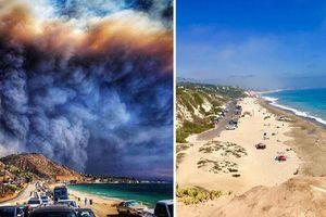 Khó tin khung cảnh đối lập của California trước và sau trận bão lửa kinh hoàng