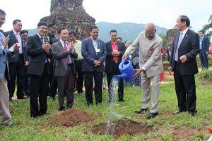 Tổng thống Ấn Độ thăm Thánh địa Mỹ Sơn