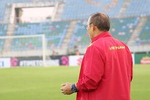 HLV Park Hang-seo cầu nguyện trước trận đấu với Myanmar