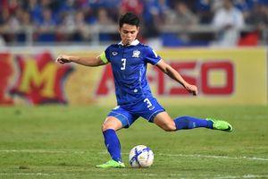 Cầu thủ Thái Lan ghi bàn từ chấm phạt góc