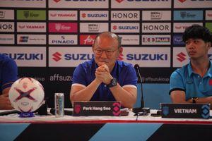 Thầy trò HLV Park Hang Seo tự tin trước đối thủ Myanmar