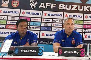 HLV đội tuyển Myanmar Antoine Hey đã 'giải mã' đội tuyển Việt Nam