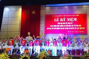 Huyện Sóc Sơn phấn đấu 65,7% trường đạt chuẩn quốc gia