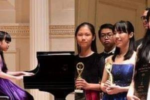 Trường Âm nhạc B.A.C.H thắng lớn trong cuộc thi Piano quốc tế tại New York