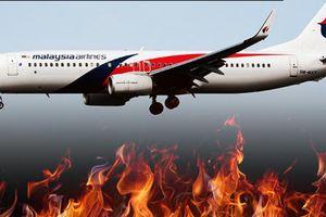 Nóng: MH370 bốc cháy như 'quan tài bay' những giờ cuối cùng