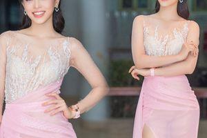 Á hậu Phương Nga lộ trọn nội y vì váy siêu mỏng: 'Duyên' hay 'kém duyên'?