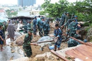 Nha Trang, nỗi đau sạt lở đất
