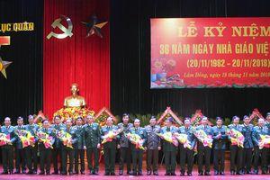 Học viện Lục quân thực hiện tốt ba khâu đột phá trong giáo dục-đào tạo