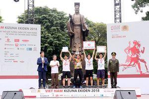 Giải chạy tiếp sức-Kizuna Ekiden - Chạy vì An toàn giao thông 2018