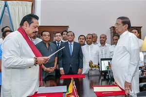 Sri Lanka đàm phán giải quyết căng thẳng chính trị