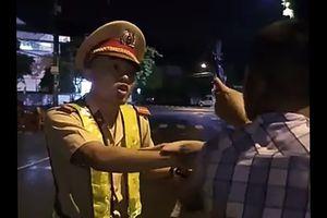 Nhiều tình tiết bất ngờ sau vụ CSGT 'bị húc chỏ té ngã' ở Bình Định