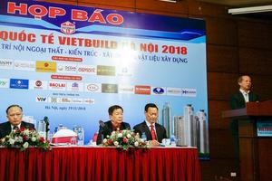 168 doanh nghiệp nước ngoài sẽ tham gia Vietbuild Hà Nội lần 3