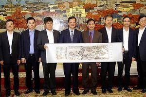 Đoàn Đại biểu Ủy ban Giám sát tỉnh Hà Nam -Trung Quốc, thăm và làm việc tại Hải Phòng