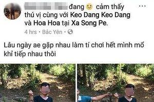 Công an làm việc với thanh niên khoe ảnh giết khỉ trên Facebook