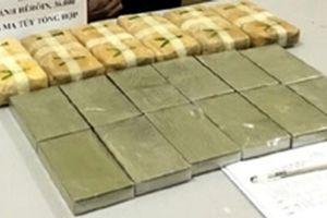 Bắt đối tượng vận chuyển ma túy 'khủng' từ biên giới