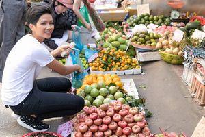 H'Hen Niê về thăm quê hương trước ngày lên đường tham dự Miss Universe