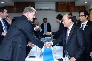 Thủ tướng Nguyễn Xuân Phúc gặp gỡ một loạt tập đoàn lớn của Mỹ