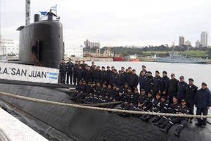 Argentina tưởng niệm 44 thủy thủ tàu ngầm San Juan sau một năm mất tích