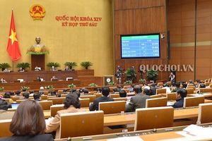 Quốc hội thông qua 5 Luật với tỷ lệ tán thành cao