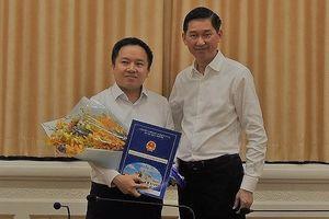 Ông Từ Lương được bổ nhiệm Phó giám đốc Sở TT&TT TP.HCM