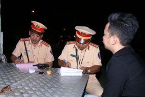 Cần Thơ: Lực lượng CSGT tăng cường xử lý vi phạm nồng độ cồn