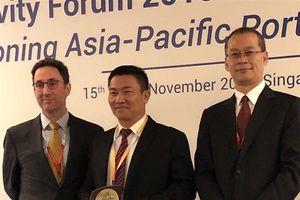 Tân cảng Cát Lái: Cảng đầu tiên của Việt Nam nhận giải thưởng Cảng xanh