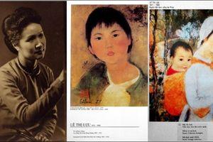 Tranh của họa sĩ trường Mỹ thuật Đông Dương Lê Thị Lựu 'hồi cố hương'