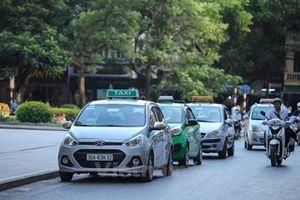 Taxi Hà Nội được phân vùng hoạt động, màu sơn và chung tổng đài