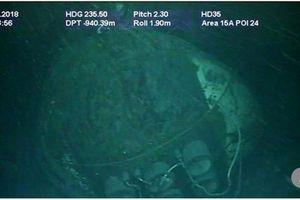 Ám ảnh những bức hình tàu ngầm Argentina đắm dưới đáy biển sâu 900m
