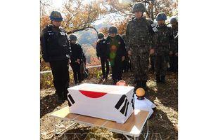 Hàn Quốc phát hiện thêm nhiều hài cốt binh sĩ tử trận trong Chiến tranh Triều Tiên