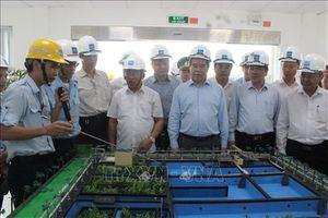 Hà Tĩnh phát triển công nghiệp phải luôn luôn gắn với bảo vệ môi trường