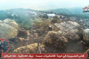 Chùm ảnh: Phiến quân tấn công trục Hama-Latakia, 20 lính Syria thiệt mạng