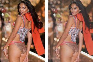Dù 'đẹp hết phần thiên hạ' nhưng dàn thiên thần Victoria's Secret vẫn nghiện Photoshop thế này